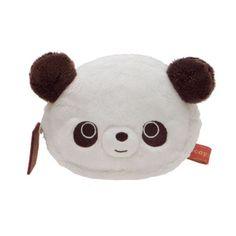 Chocopa Panda bear plush pouch wallet