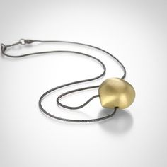 Hazelnut Necklace by Gabriella Kiss @QUADRUM