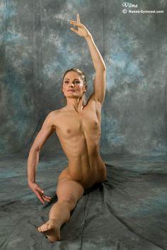 Not so. Flexible nude ballerina vilma