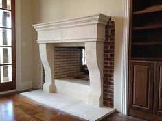 $2950 Cast Stone Hoods and limestone fireplace custom products