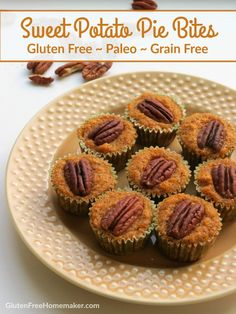 Because these sweet potato pie bites don't have a crust, this recipe is super easy and doesn't use any special ingredients. It also happens to be paleo. Found at GlutenFreeHomemaker.com