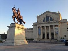 The front of the St. Louis Art Museum in Forest Park. - Fredlyfish4/Wikimedia Commons