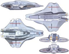 Venture-class scout ship rendered schematics Eaves was apparently inspired by the Defiant when designing the scout ship for Insurrection. The compact nacelle design certainly looks more sleek. Do you think it violates Star Trek design lineage by not having nacelle pylons?
