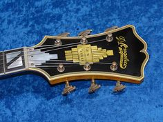 D'Angelico Headstock