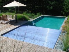 An automatic pool cover keeps your pool cleaner longer by blocking out dirt and debris. Aquamatic Cover Systems http://www.poolspaoutdoor.com/buyers-guide/pool-covers/aquamatic-pool-covers.aspx