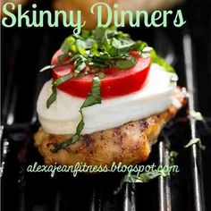 Italian Dressing Marinated Chicken Grilled & Topped w/ Mozzarella, Tomato & Basil
