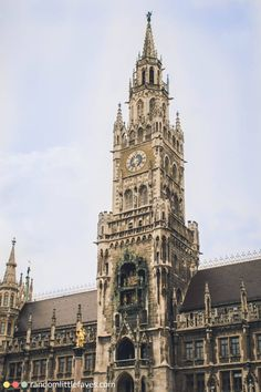 The Marienplatz is the central spot in Munich and a must-see!
