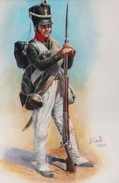 Russian Line infantry Musketeer, 1806-08