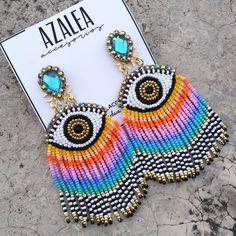 Fancy Jewellery, Bead Jewellery, Bead Earrings, Boho Jewelry, Beaded Jewelry, Seed Bead Patterns, Beading Patterns, African Necklace, Diy Bow