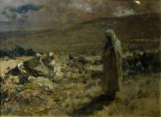 Domenico Morelli - Cristo che veglia gli apostoli - Christ watches over Apostles, 1891
