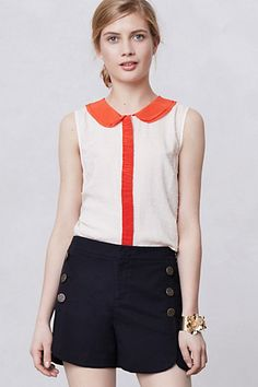 Louisa Dot Blouse #anthropologie  i love this so much that i may have already pinned it...