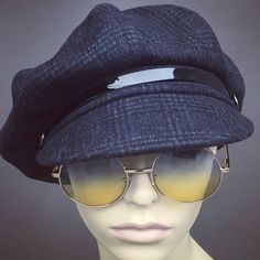 Newsboy Oversized Bakerboy Paperboy Flat Cap Hat Cabby 1930 1920 1980 Bowie  Gatsby Custom Made Bespoke Any Size XL Large Any Fabric 18f56707c7e