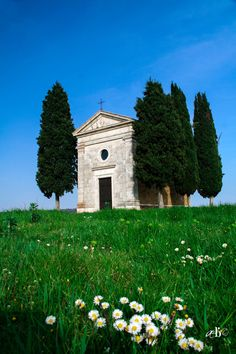 Chapel of Our Lady of Vitaleta - Val d'Orcia, Tuscany, Italy