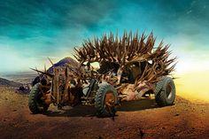 前回に引き続き、6月20日公開される話題の映画『マッドマックス 怒りのデス・ロード』のスクリーンで、荒野を舞台に暴れまくる