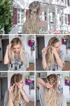 hairstyles 2019 pictures braid and curls hairstyles round face hairstyles mean to updo braided hairstyle hairstyles 2019 pictures braid and curls hairstyles round face hairstyles mean to updo braided hairstyle Braided Updo, Braided Hairstyles, Braids With Curls, Hairstyles For Round Faces, Beauty Hacks, Beauty Tips, About Me Blog, Dreadlocks, Hair Styles