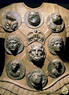 Armadura de un soldado (Reconstrucción) Romana Museo de la Civilizacion Romana España