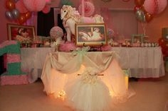 Carousel Birthday Party Ideas | Photo 1 of 59 | Catch My Party