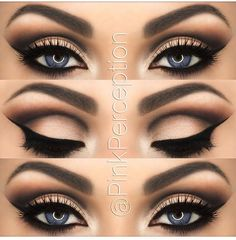 I think this would look really good on my brown eyes too! For my wedding :)))) wedding makeup!