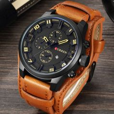 Top Brand Luxury Curren Watch