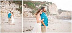 Eduardo and Nicole Santa Cruz Beach Engagement Session | Cori Delgado Photography