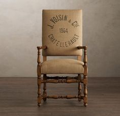 Genial I Love Burlap Chairs. I Shudder At The Thought Of My Children Spilling On  Them However.