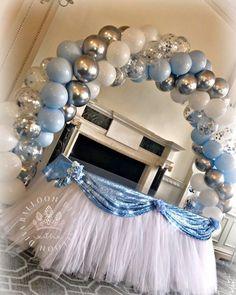 1st Birthday Balloons, Baby Shower Balloons, Baby Shower Parties, Balloon Columns, Balloon Garland, Balloon Arch, Balloon Centerpieces, Balloon Decorations, Birthday Party Decorations