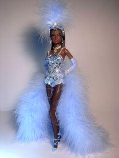 Barbie Ebony Goddess Artist Creations Italian O.O.A.K. Fashion Dolls by Alessandro Gatti e Giuseppe De Bellis