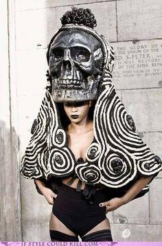 skull costume