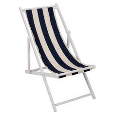 """Weather-resistant wood lounge chair with a removable washable cover.  Product: Lounge chairConstruction Material: Weather-resistant wood and polyesterColor: Dark blue  Features:  Suitable for indoor and outdoor useRemovable coverMade in the USA Dimensions: 37"""" H x 21"""" W x 40"""" DCleaning and Care: Cover is washable"""