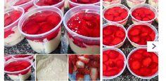 Torta Fresas en Pote, Si te gusta dinos HOLA y dale a Me Gusta MIREN !! | Receitas Soberanas