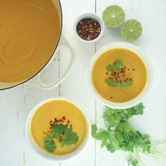 Carrot, Sweet Potato, + Ginger Soup | What Annie's Eating