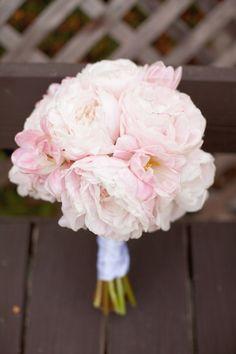 wedding flowers - pink peony