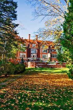 Glensheen Estate in Duluth. Our relatives are currently the caretakers for the Congdon family who used to occupy this house. No joke!