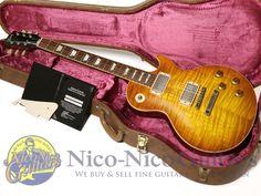 Gibson Custom Shop 2012 Historic 1959 Les Paul VOS (Sunrise Tea Burst)