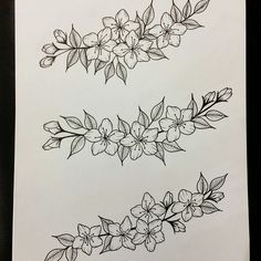 Flower tattoo design by lauraevelyn.ink Flower tattoo design by lauraevelyn. Floral Tattoo Design, Flower Tattoo Designs, Flower Tattoos, Flower Designs, Form Tattoo, Shape Tattoo, Tattoo Drawings, Body Art Tattoos, Small Tattoos