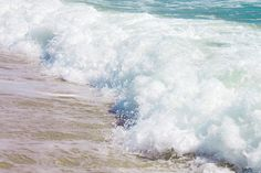 Beach wall art Ocean Waves photograph 8x12 by AnaPontesPhotography.