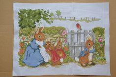 Peter Rabbit Cross Stitch Patterns | Peter Rabbit's New Tales
