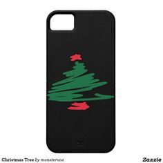 Christmas Tree iPhone SE/5/5s Case #Mobile #Phone #iPhone #Case #Cover #Christmas #Holiday #Winter #Tree