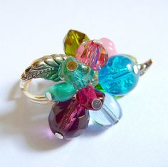 beaded ring project