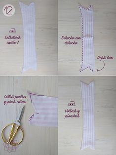 Tutorial de costura. Costura fácil. Molde gratis. Camisa a rayas. Costura. Design Blog, Bead Jewellery, Costura Diy, Personalized Items, Sewing, Tips, Patron Couture, Men's, Shirt Patterns