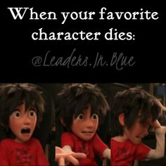YES. Or when the only character you like dies.