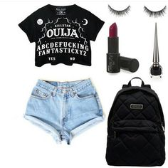 girls night in party ideas Grunge Style, Grunge Girl, Girls Night Out Outfits, Girl Outfits, Grunge Outfits, Rock Style, Nirvana, Dr. Martens, Girls Dpz