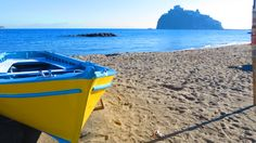 Fisherman's Beach (Spiaggia dei Pescatori) in Ischia Ponte. Part of the Ischia Review Gallery at www.ischiareview.com