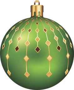 novogodnie_igrushki christmas balls christmas ornaments green christmas christmas clipart christmas decorations - Green Christmas Decorations
