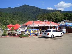 picture of Maracas Bay, famous Bake & Shark, Trinidad & Tobago