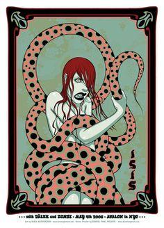 Tara McPherson | ART Posters 2006 Isis, Dalek, Zombi