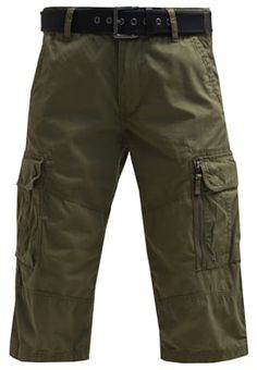 Shorts - burnt olive