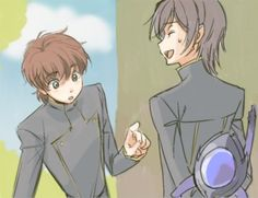 Suzaku and Lelouch(Zero)