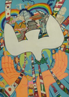 Finalist from Korea Lions Clubs International 2012-2013 Peace Poster Contest