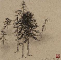 Robert Faure Peinture tchan et Sumi-e Air, Dandelion, Flowers, Plants, Calm, Noel, Paint, Dandelions, Plant